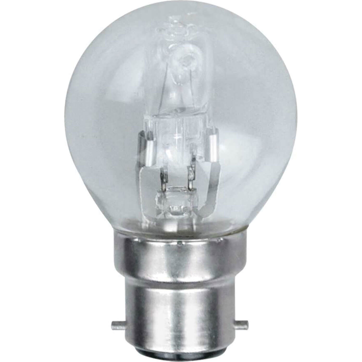 Image of Eveready Energy Save G45 Halogen Golf Bulb BC / B22 Bayonet Cap 42w