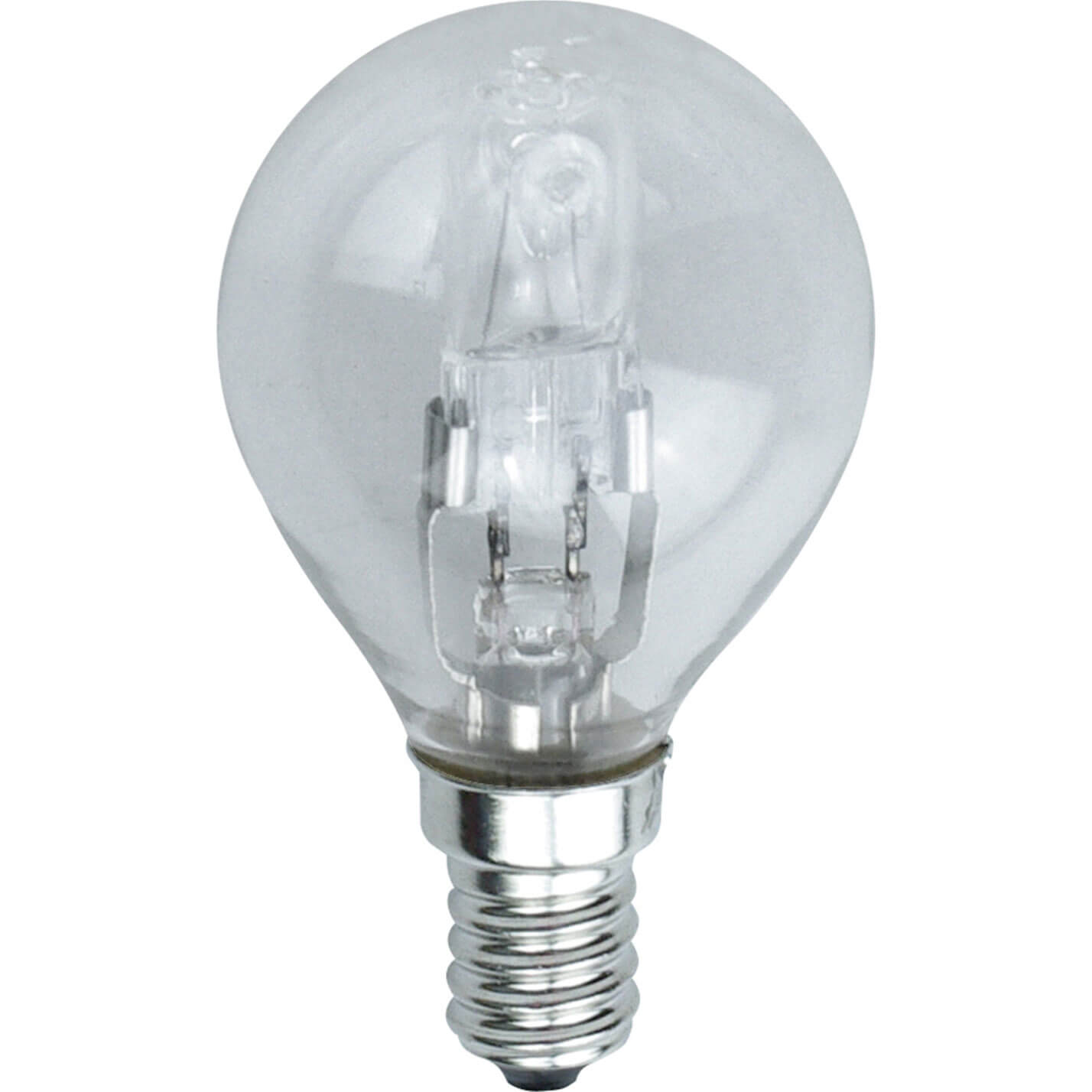 Image of Eveready Energy Save G45 Halogen Golf Bulb SES / E14 Small Edison Screw 42w