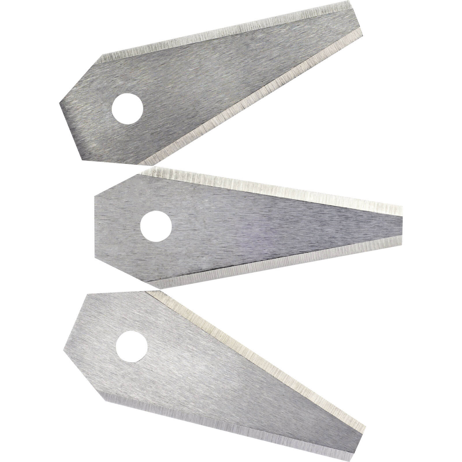 Bosch Pack of 3 Replacement Blades for Indego Robotic Lawn Mowers