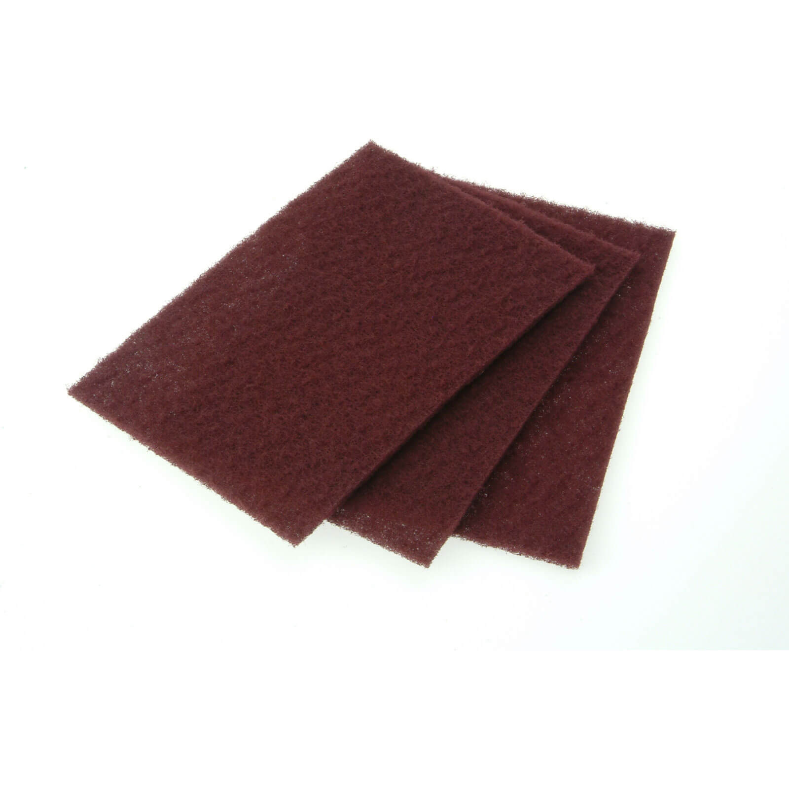Faithfull Hand Pad Maroon 230X150mm Very Fine S x 10