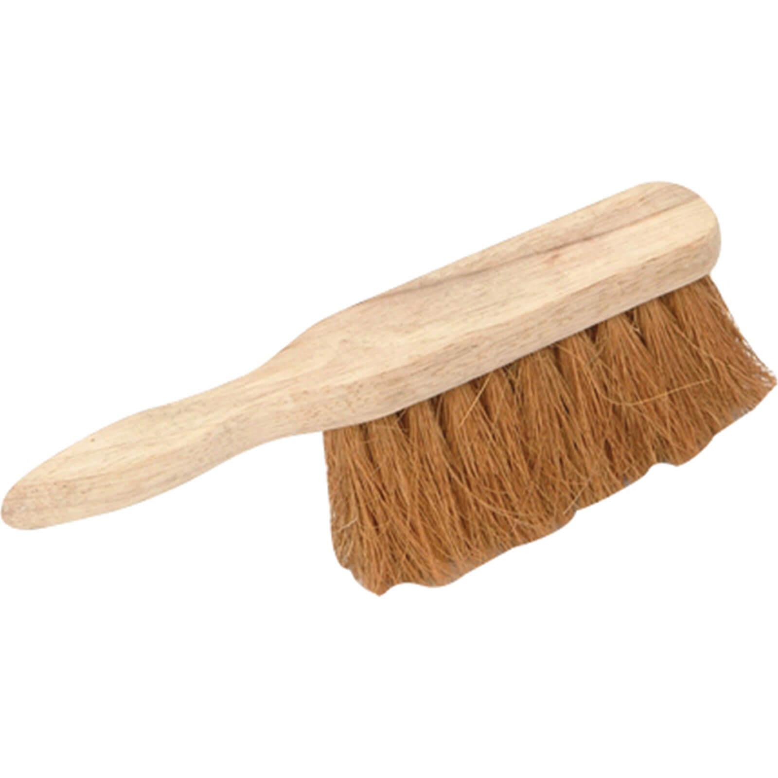 """Tooled Up/Tools/Shovels, brushes & wheelbarrows/Faithfull Soft Coco Hand Brush 11"""""""
