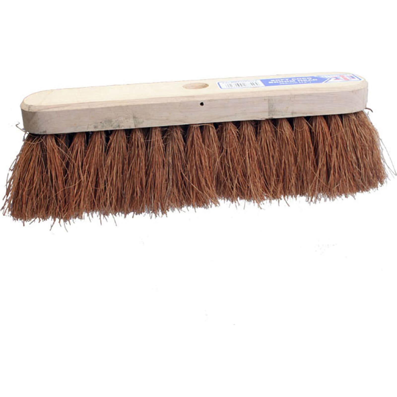 "Tooled Up/Tools/Shovels, brushes & wheelbarrows/Faithfull Soft Coco Broom Head 12"""