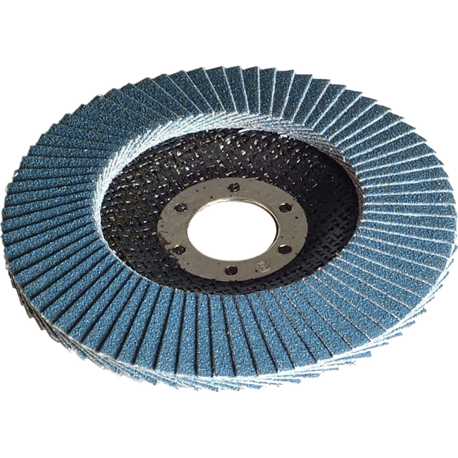 Faithfull Flap Disc 100mm Coarse