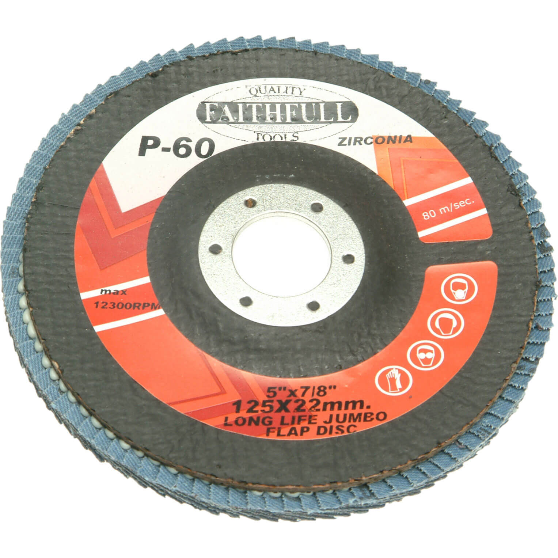Faithfull Flap Disc 127mm Coarse