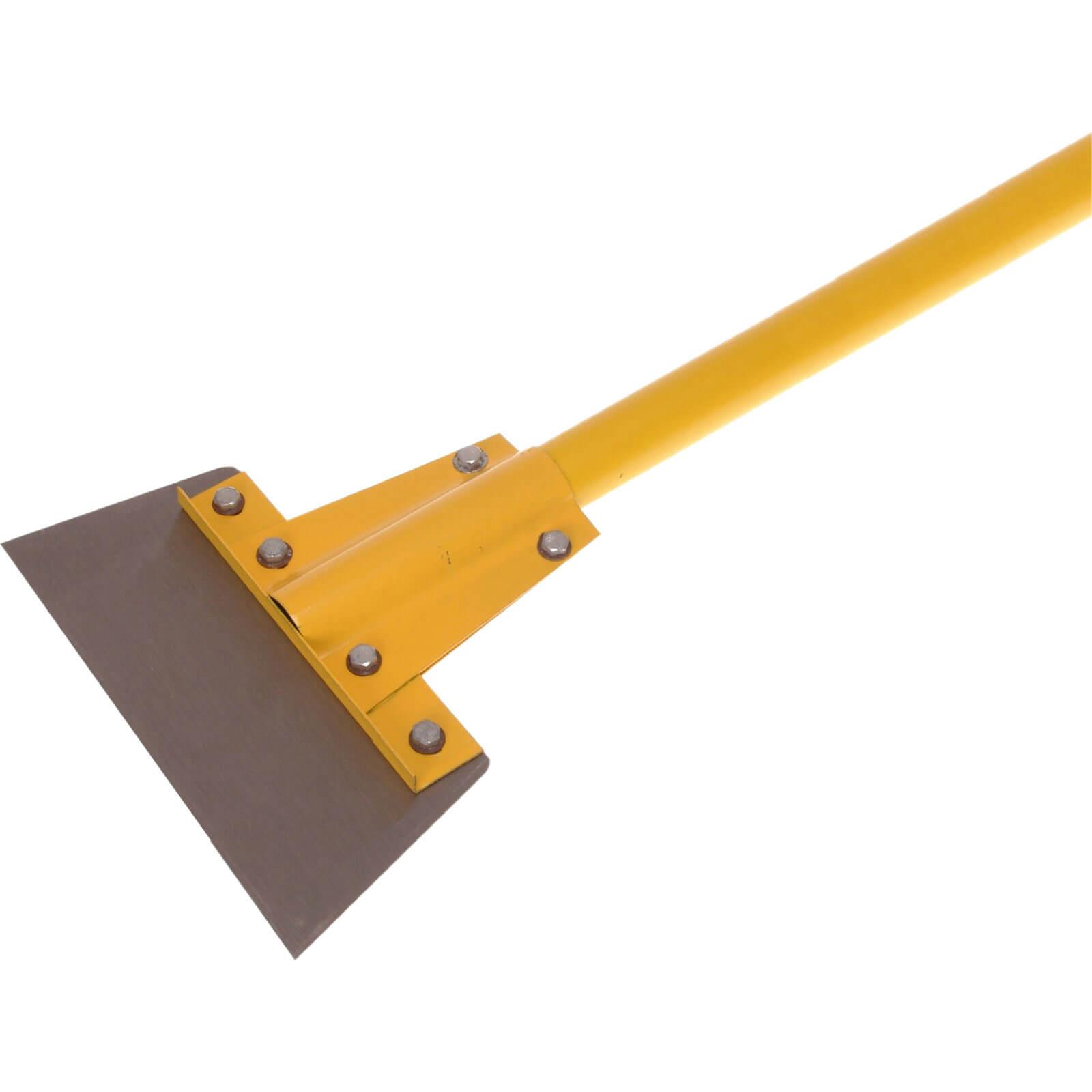 "Faithfull 8"" Floor Scraper With 48"" Fibreglass Handle"