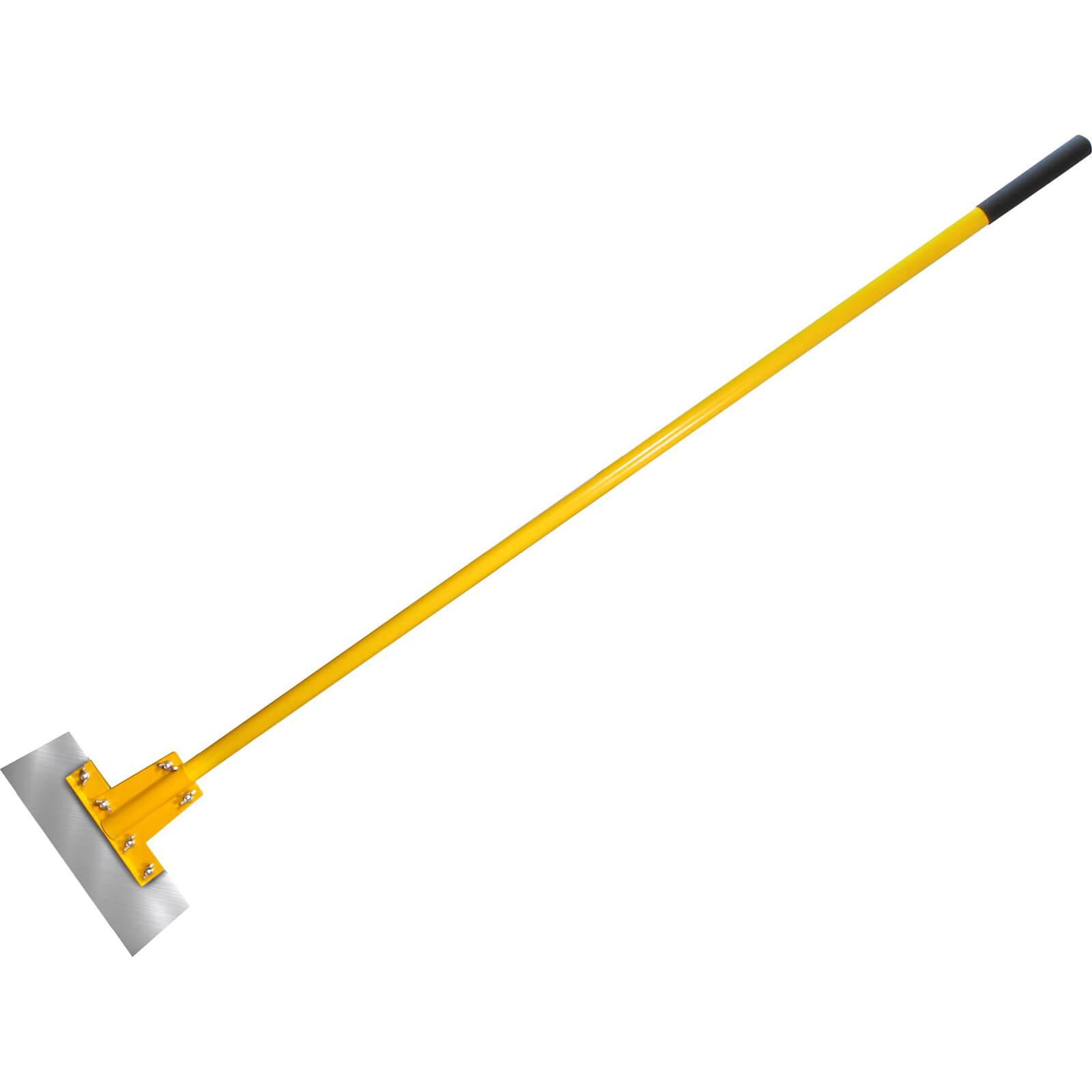 "Faithfull 12"" Floor Scraper With 48""  Heavy Duty Fibreglass Handle"