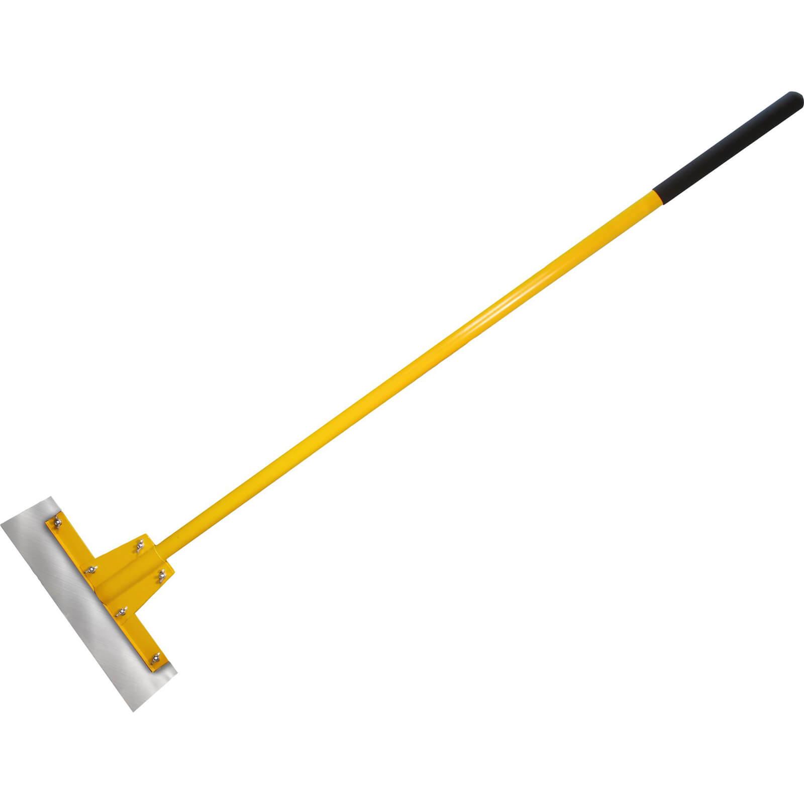 "Faithfull 16"" Floor Scraper With 48"" Heavy Duty Fibreglass Handle"