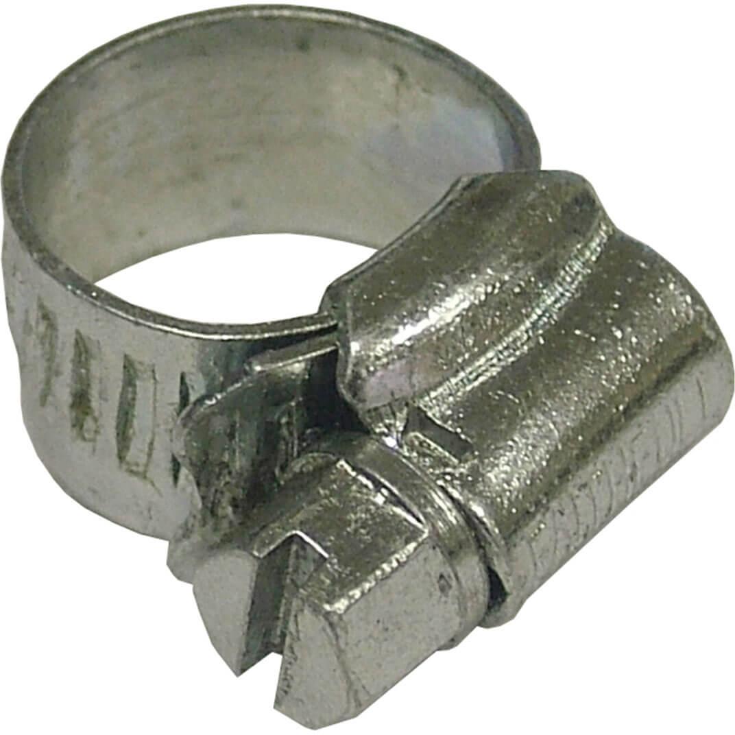 Faithfull MOO Stainless Steel Hose Clip 11mm - 16mm / 1/2