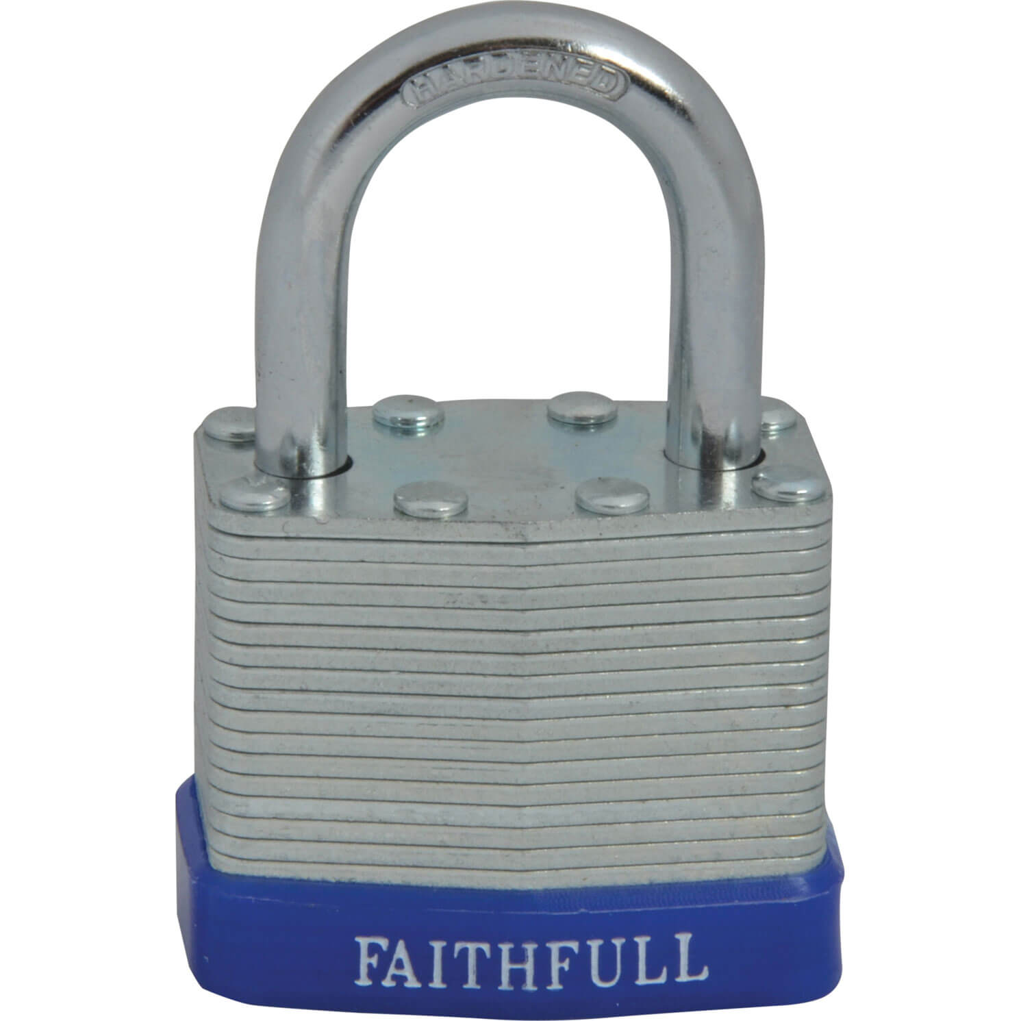 Tooled Up/Ironmongery & Security/Security/Faithfull 40mm Laminated Steel Padlock