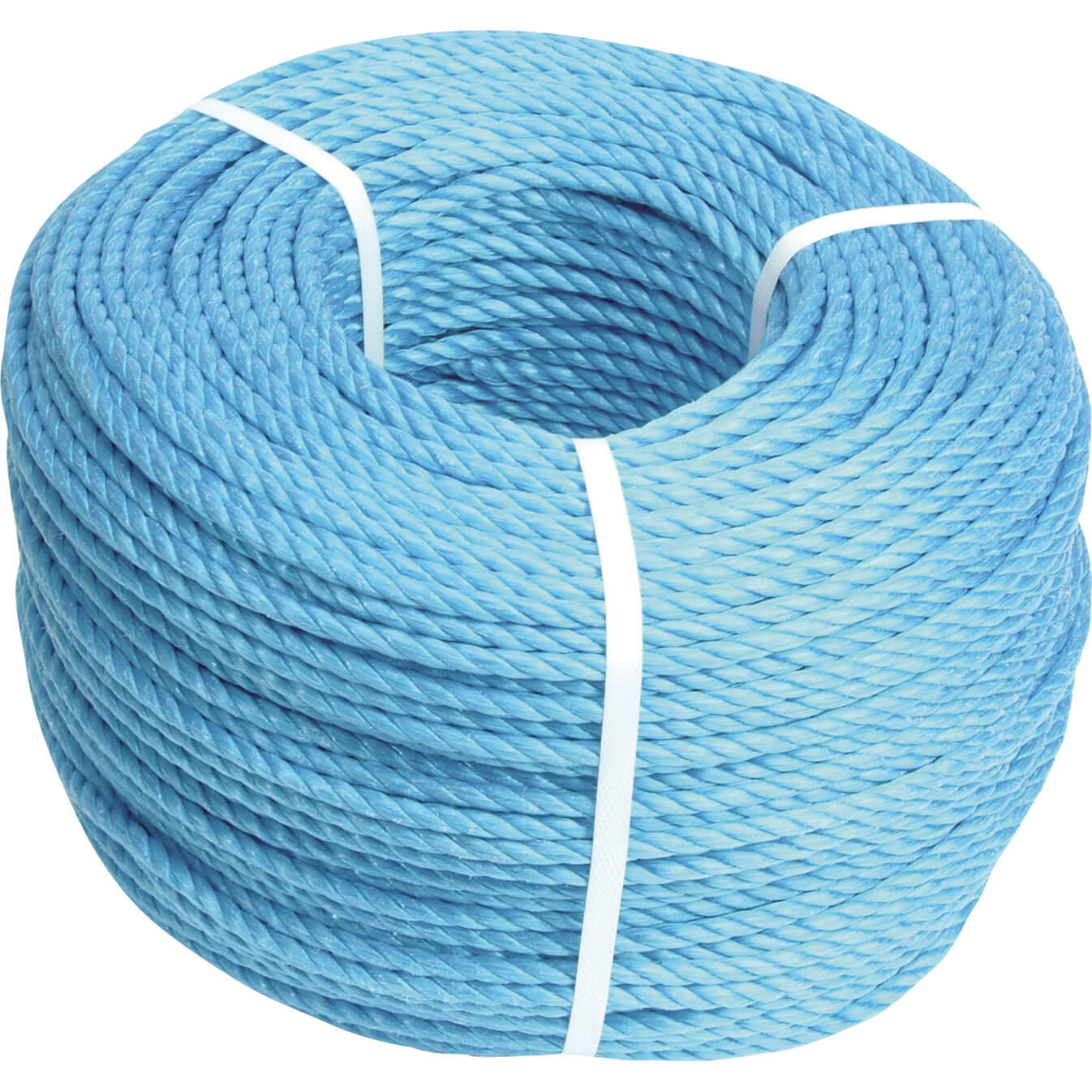 Faithfull Blue Polypropylene Rope 12mm x 30m