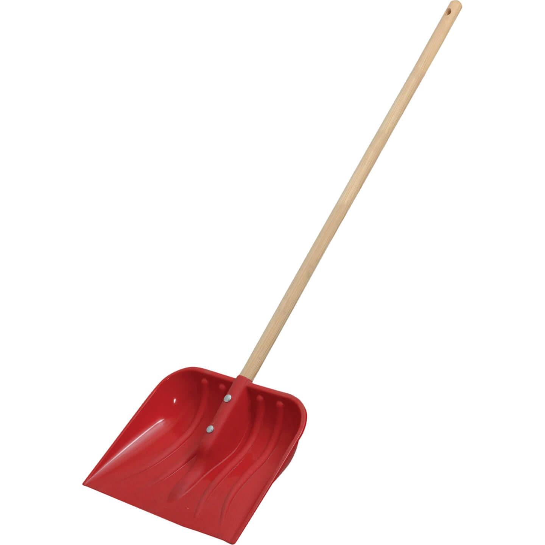 Faithfull Childrens Plastic Snow Shovel with Handle