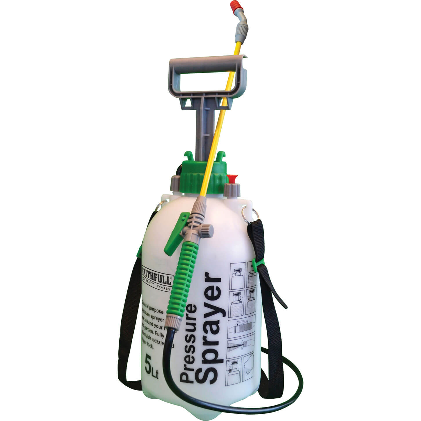 Faithfull 5 Litre Pressure Sprayer