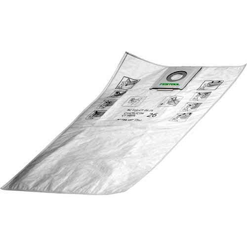 Image of Festool SC-FIS-CT 26 Filter Bags Pack of 5