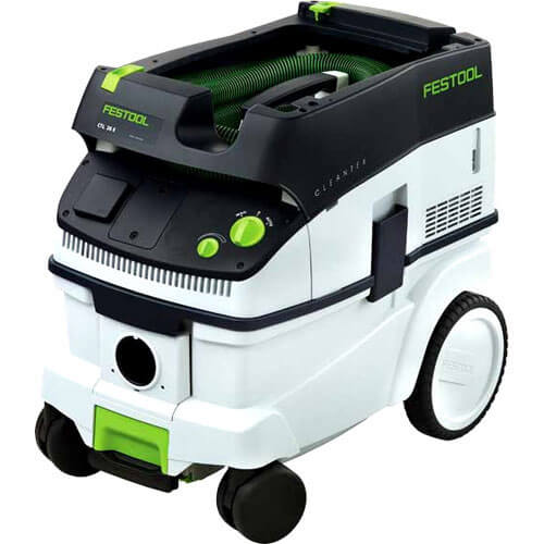 Image of Festool Cleantex CTL26E Dust Extractor 26L 2400w 110v