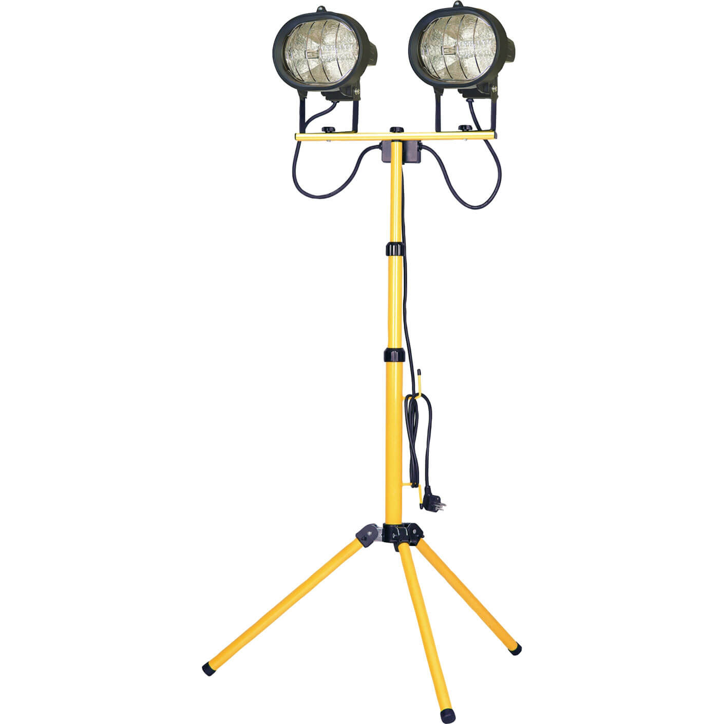 Image of Faithfull Halogen Twin Site Light with Adjustable Stand 1000w 240v