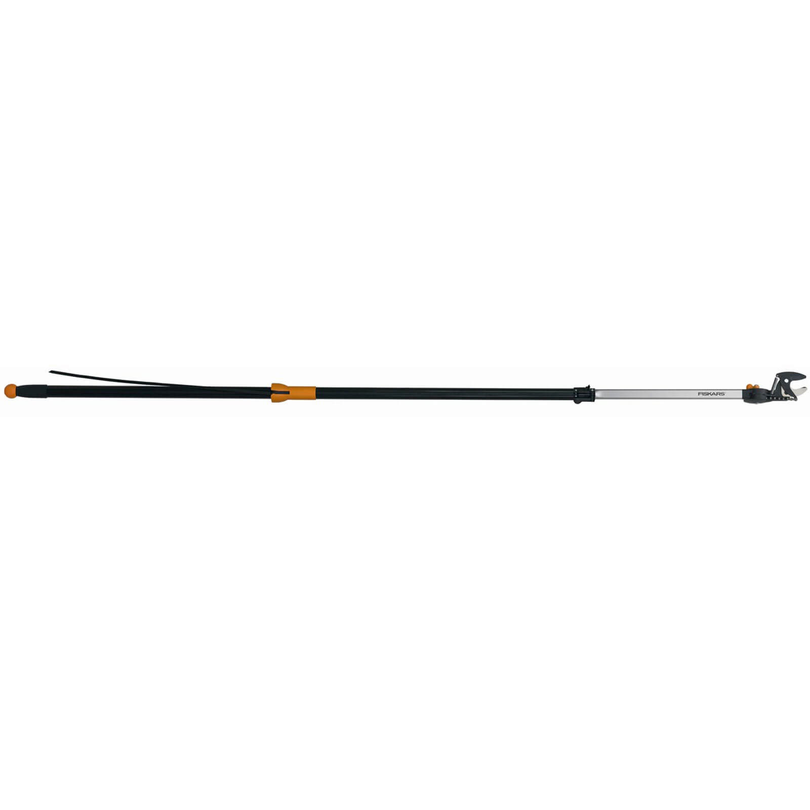 Fiskars Telescopic Universal Anvil Tree Pruner & Cutter 2.3 Metres Extends Max 3.4 Metres