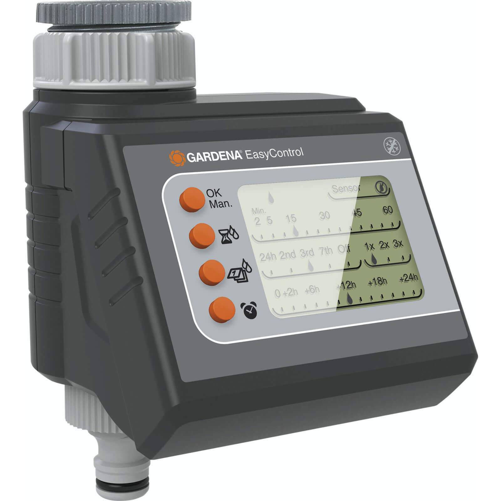 Gardena EasyControl Digital Water Timer with LCD Display