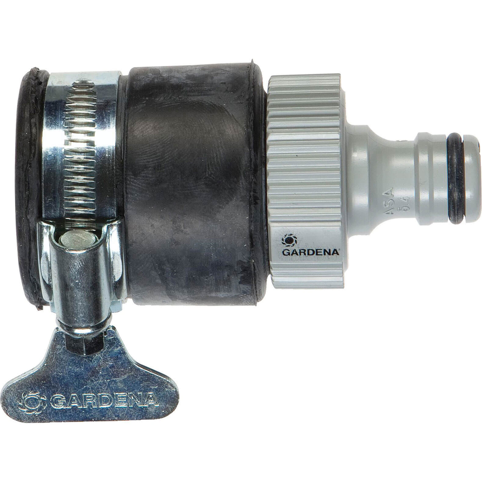 Gardena Round Tap Hose Connector with 15 to 20mm External