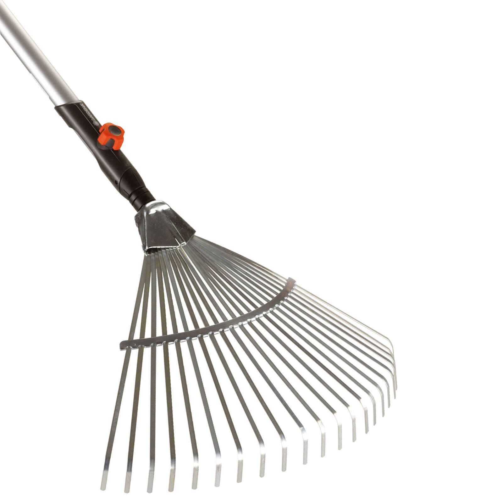 Garden hand tools gardena combisystem fan rake with for Large rake garden tool