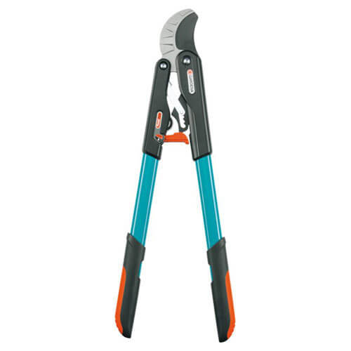 Gardena Comfort Ratchet SmartCut Anvil Loppers 45mm Max Cut 590mm Long
