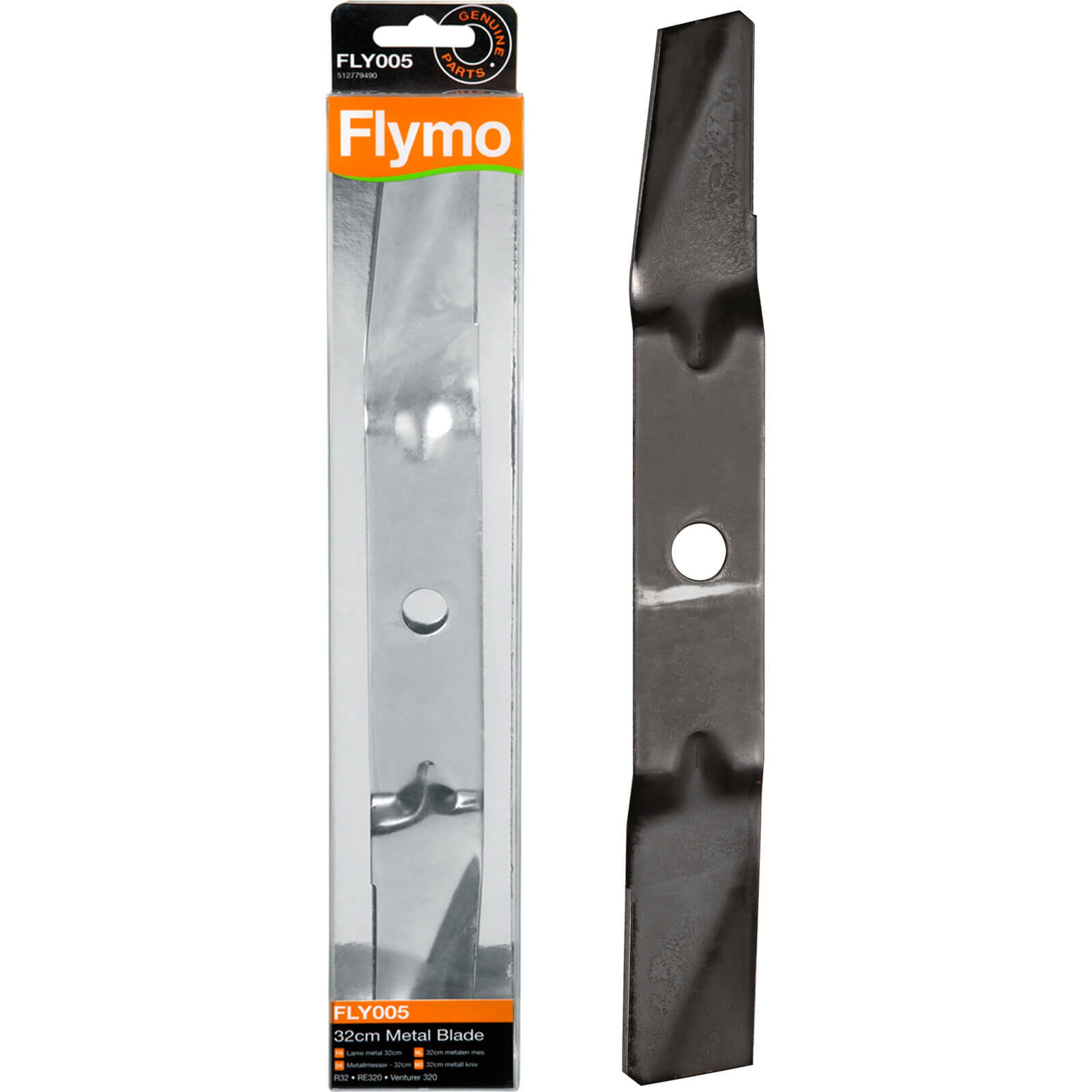 Flymo FLY005 Replacement Metal Blade 32cm for Venturer 320, RE320, RE32 & R32 Lawnmowers