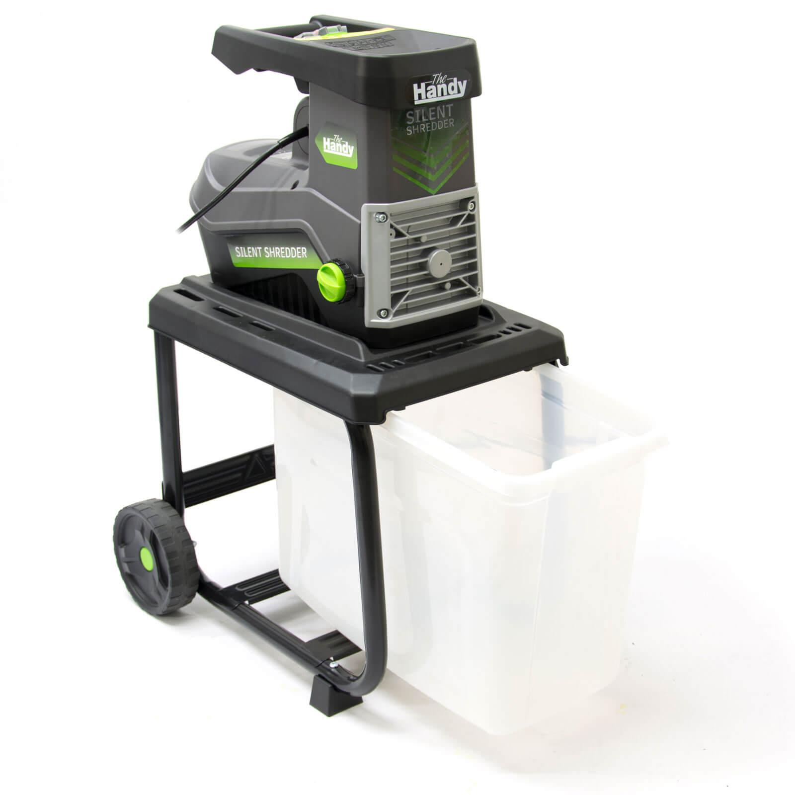 Handy Silent Garden Shredder Max 40mm Capacity 2500w 240v
