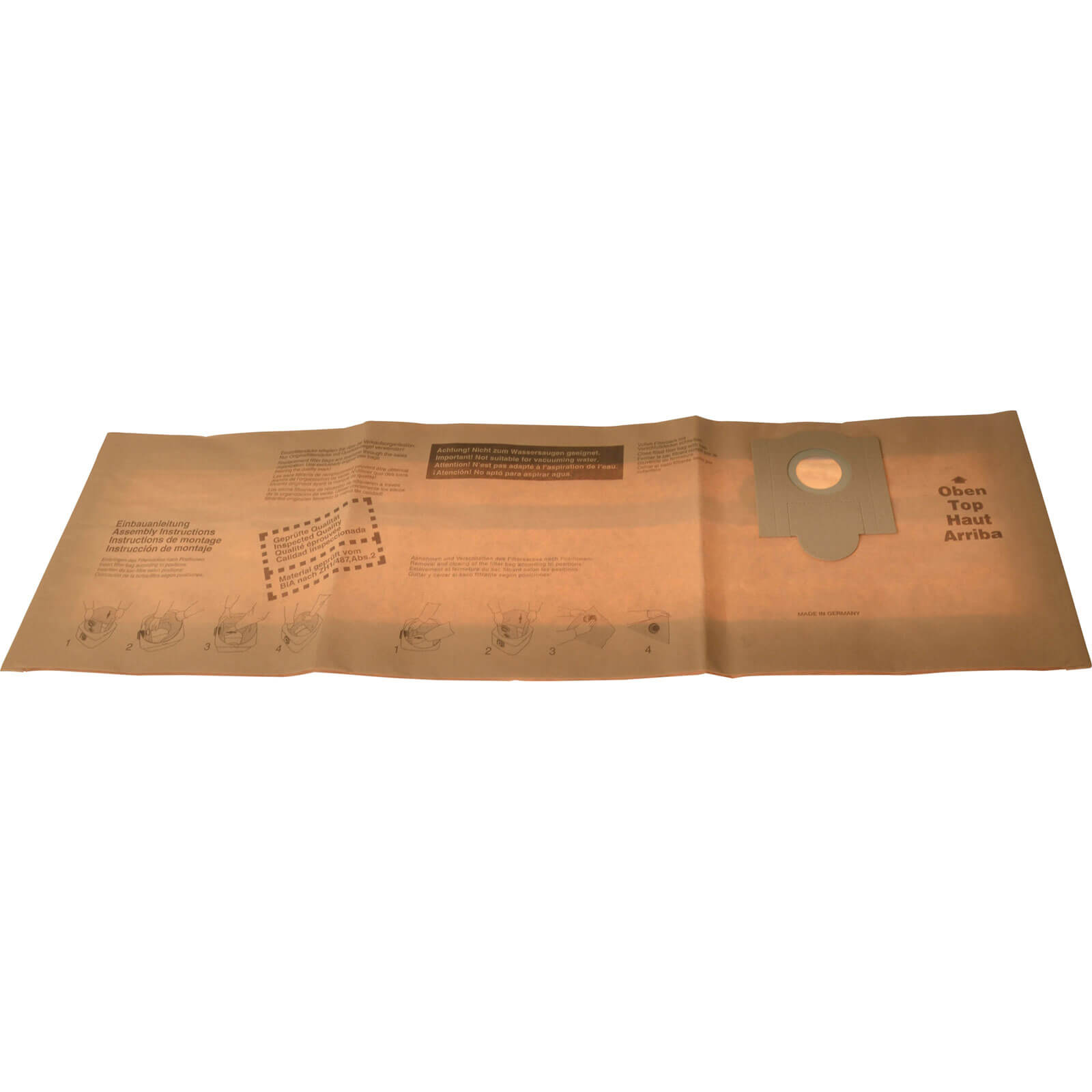 Image of Hitachi Paper Bag for QB35E Wet & Dry Vacuum Cleaner