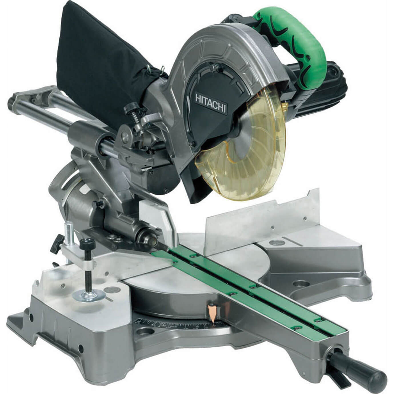 Hitachi C8FSE Sliding Compound Mitre Saw 216mm Blade 1050w 110v