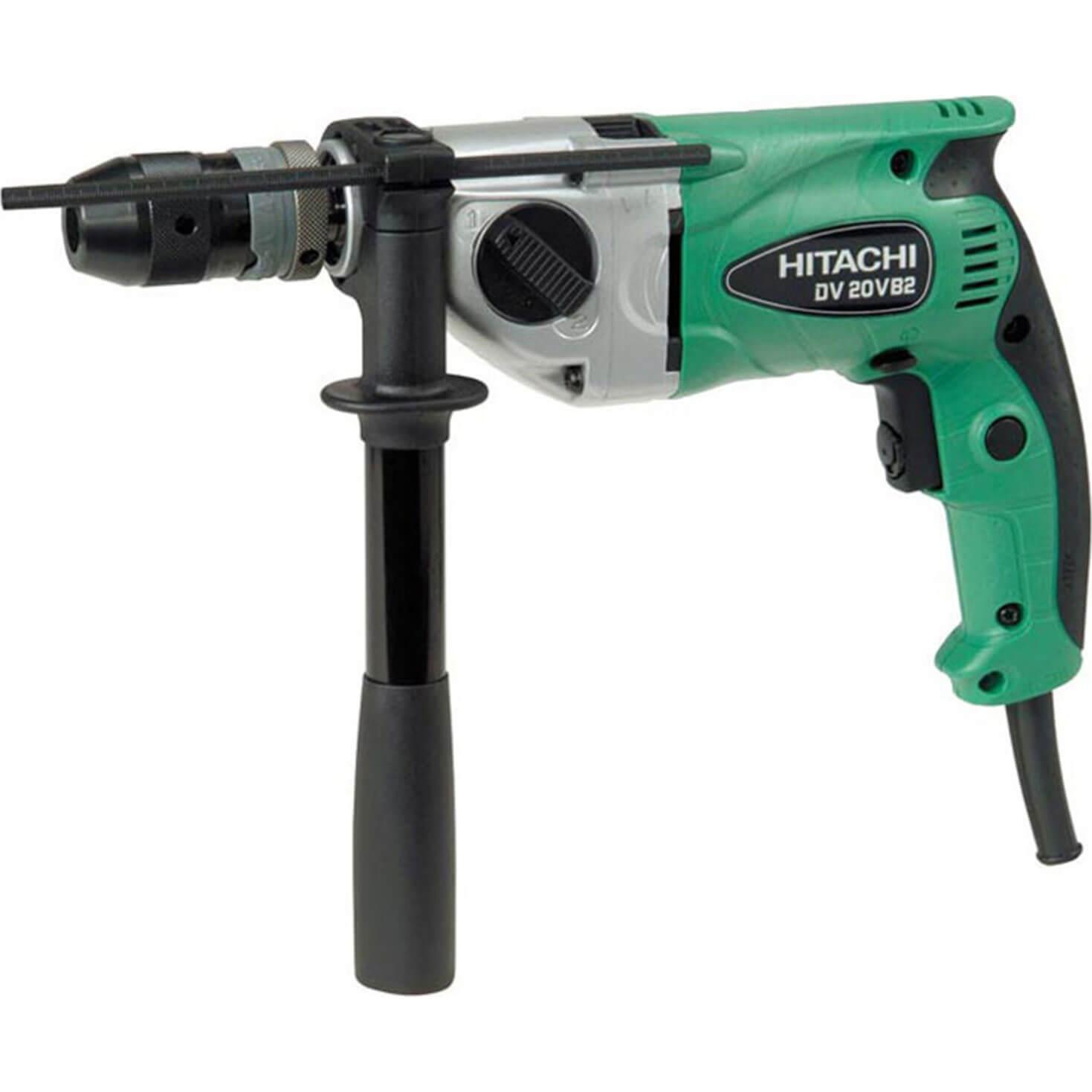 Hitachi Dv20vb2 Hammer Drill 790w 110v