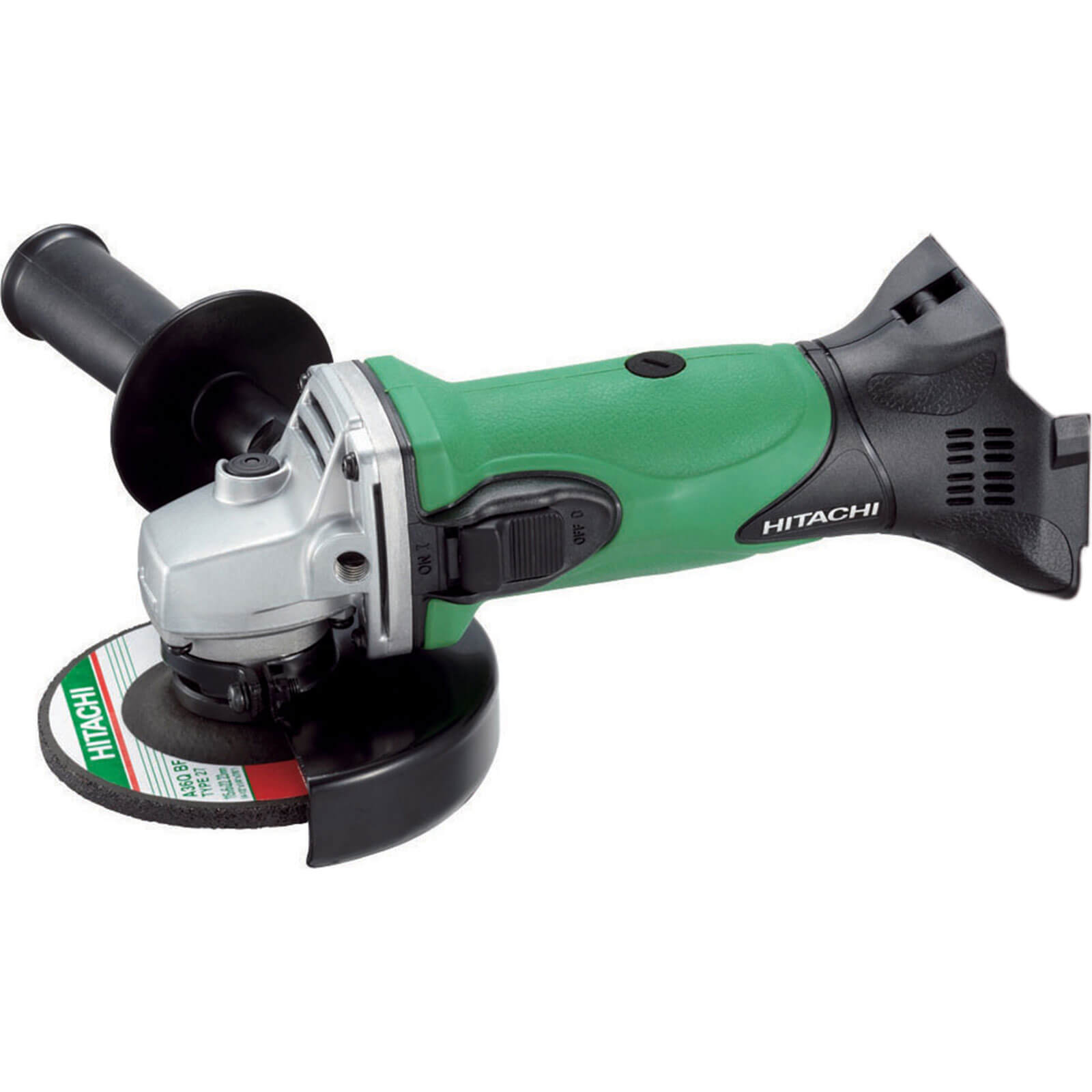 """Hitachi G18DSL4 18v Cordless Angle Grinder 115mm / 4.5"""" Disc without Battery or Charger"""