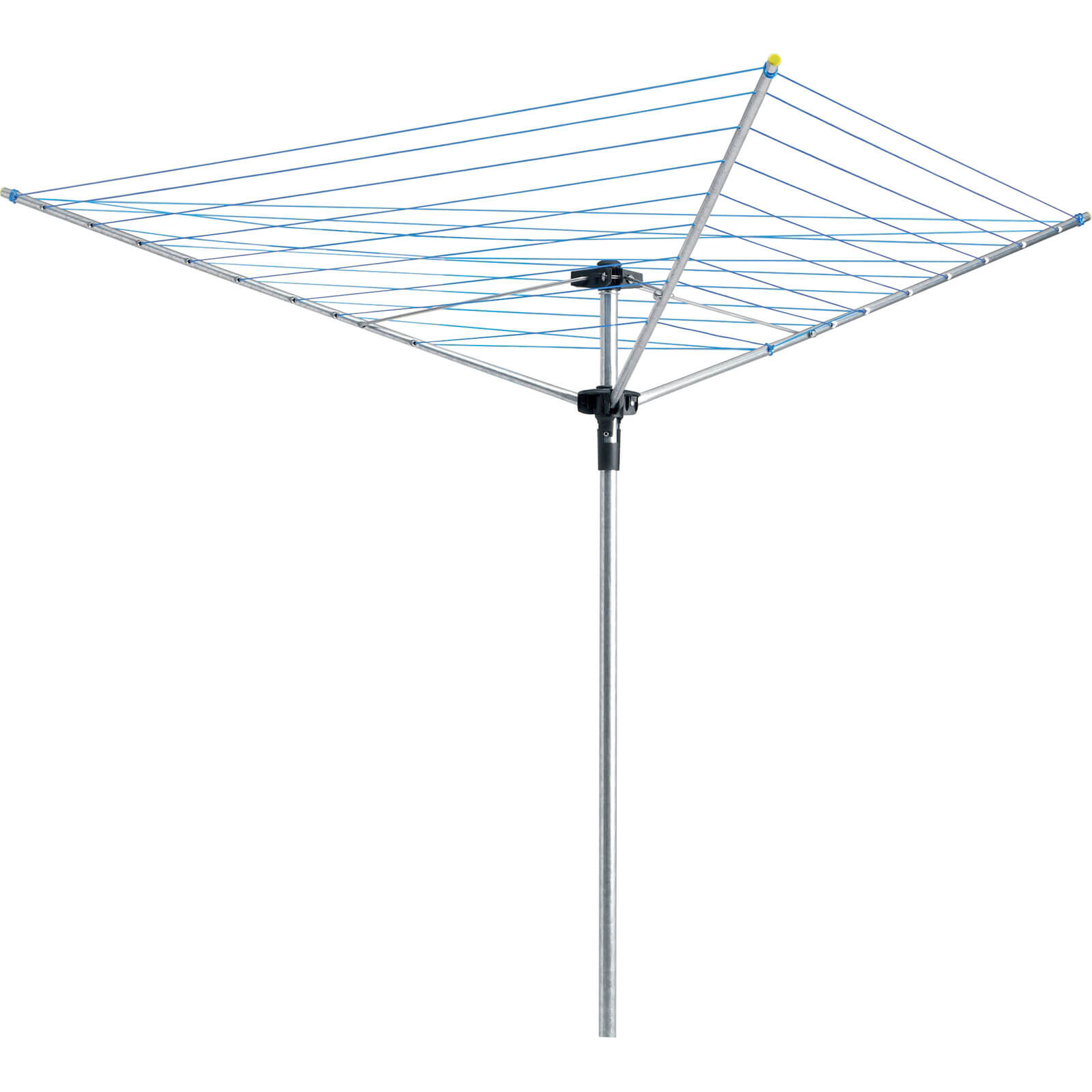 Image of Hills Industries 1407 3 Arm Rotary Washing Line with 35m Line