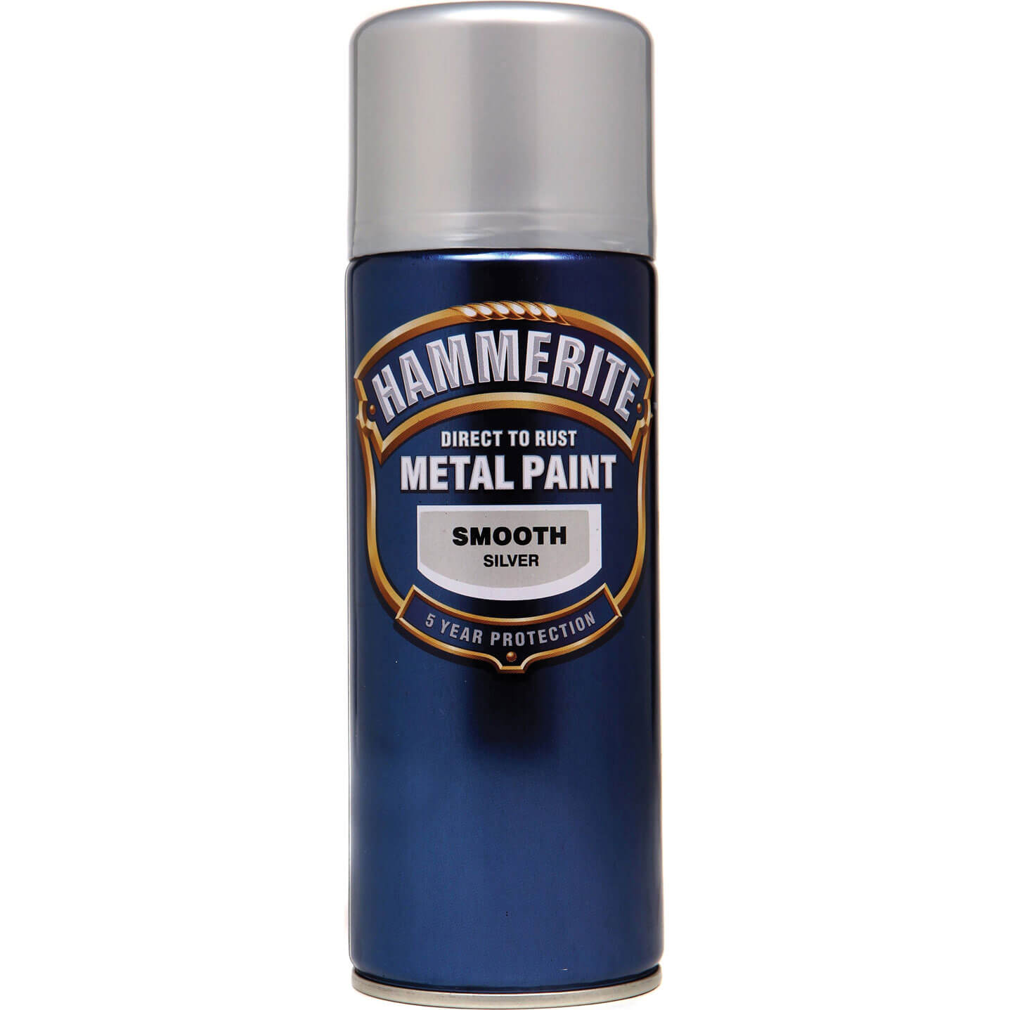 Hammerite Smooth Finish Aerosol Silver 400ml