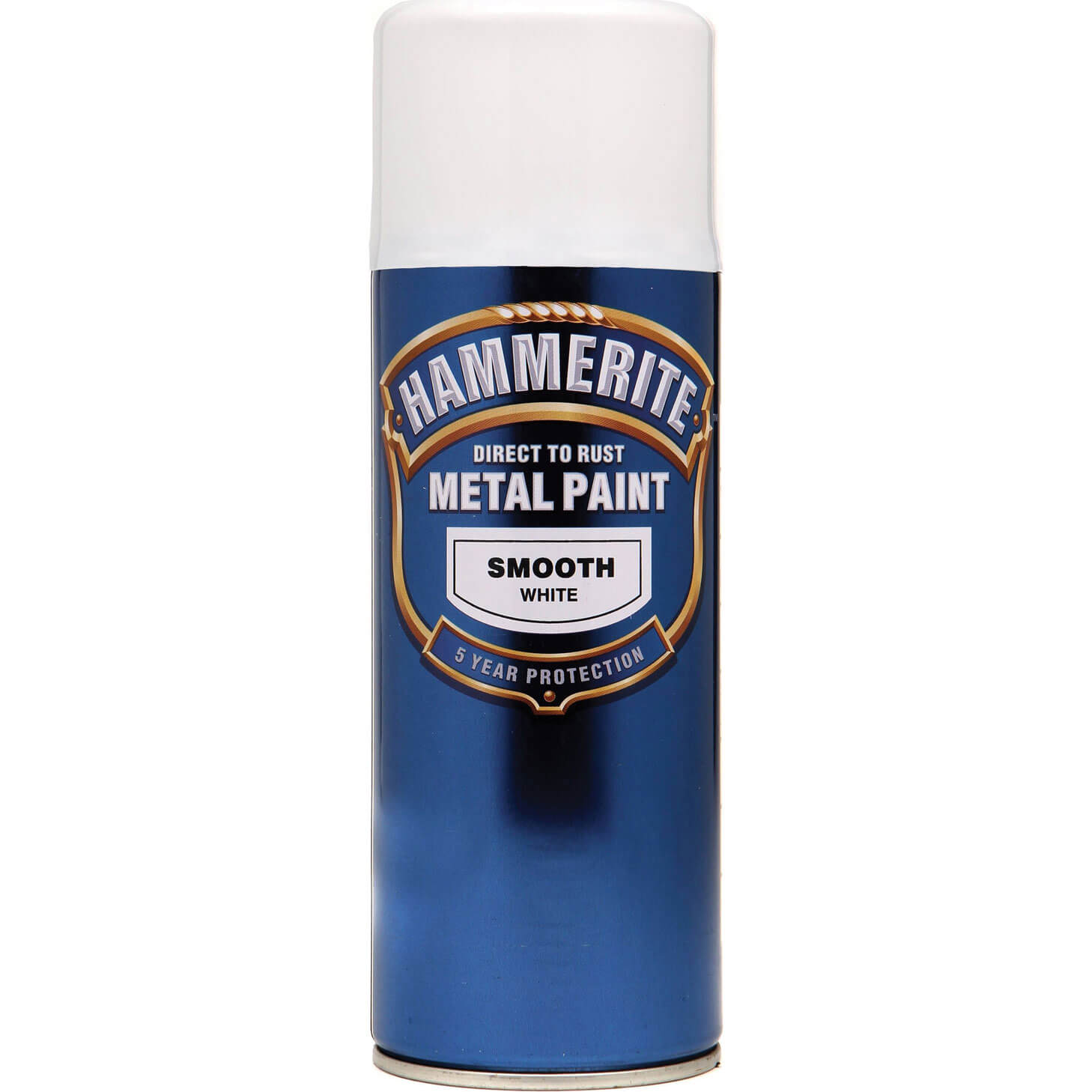 Hammerite Smooth Finish Aerosol White 400ml