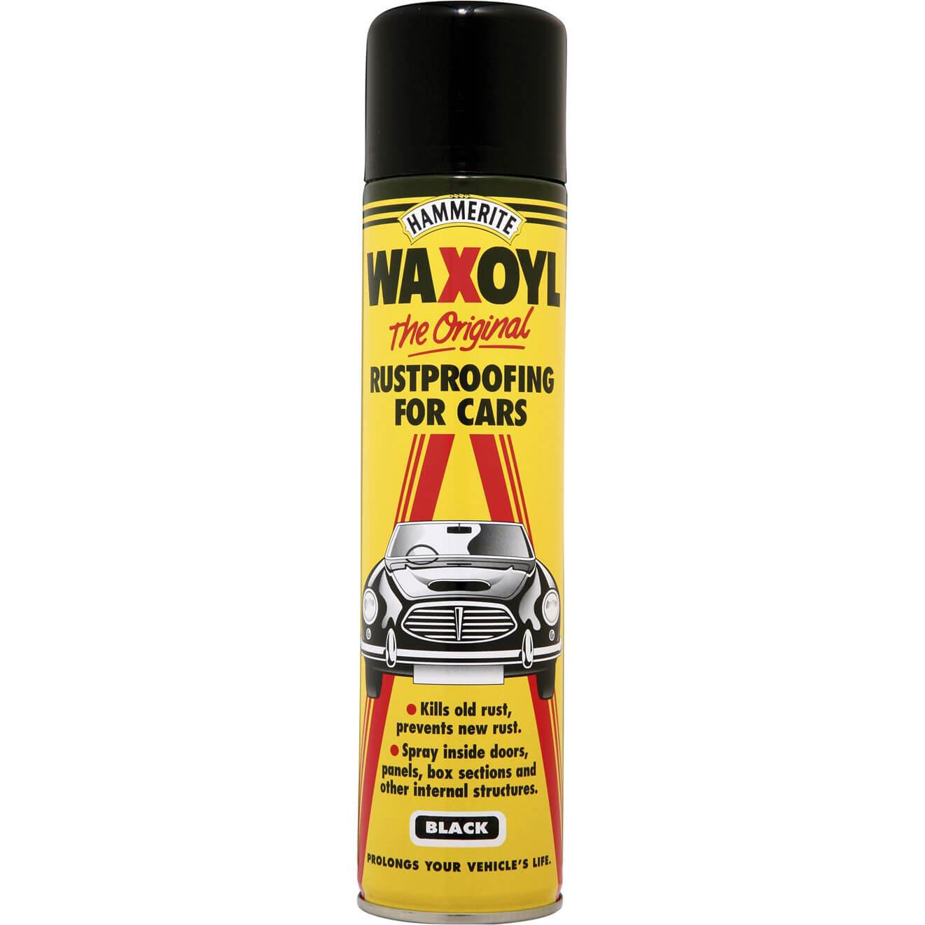 Hammerite Waxoyl Aerosol Rust Remover & Protector Clear 400ml