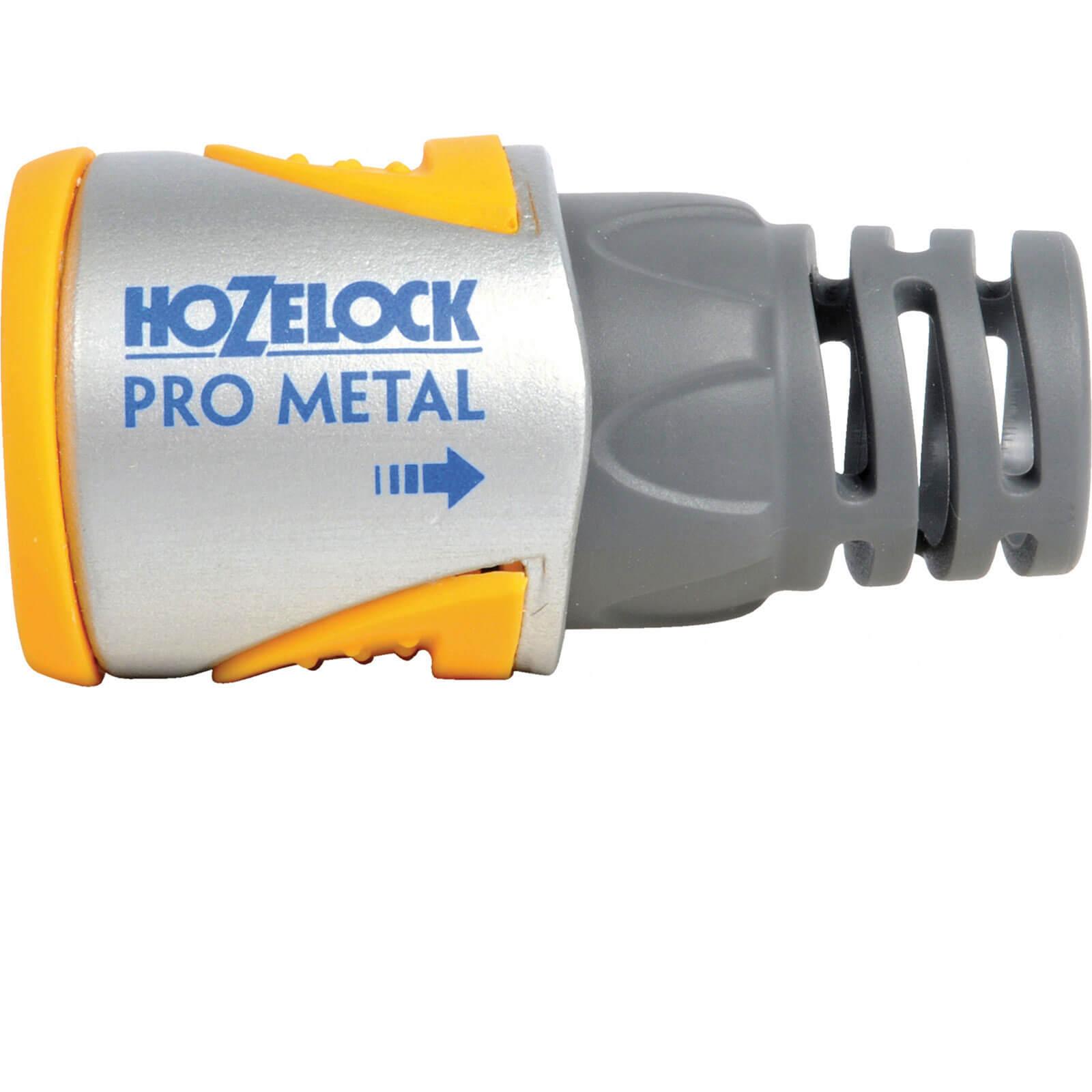 Hozelock Pro Metal Hose End Connector for 12.5mm Hose
