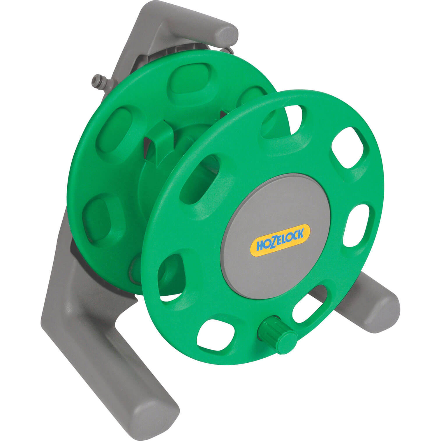 Hozelock 30 Metre Empty Compact Hose Reel with Connectors