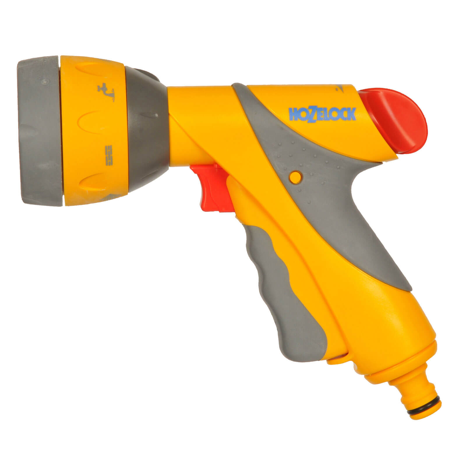 Hozelock Multi Water Spray Gun Plus with 6 Spray Patterns for Hose Pipes