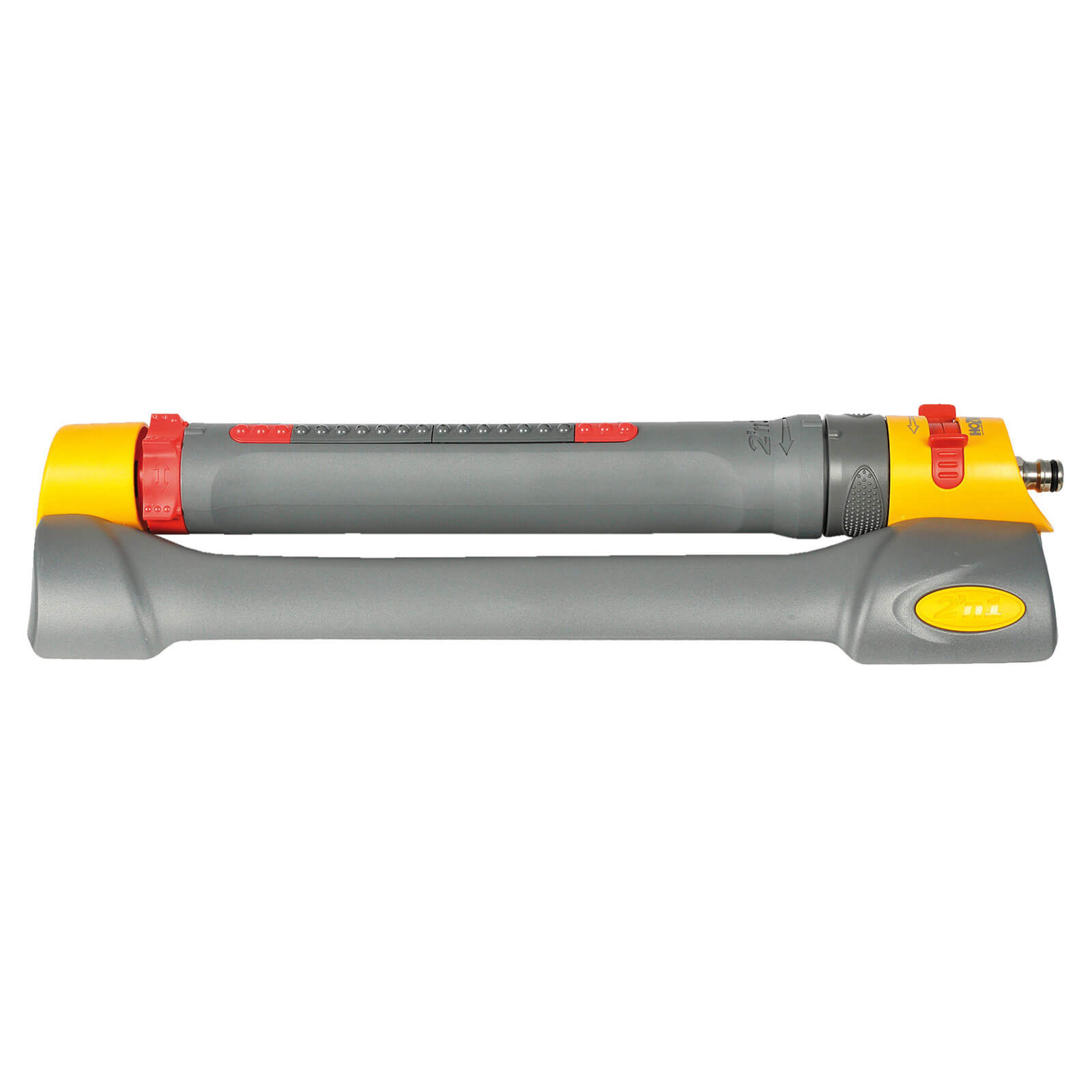 Hozelock Rectangular Oscillating Garden Water Sprinkler Pro with 2 Spray Patterns Max Coverage 320m2