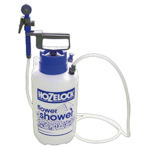 Hozelock Flower Shower Pressure Water Sprayer 5 Litres Holds 3 Litres
