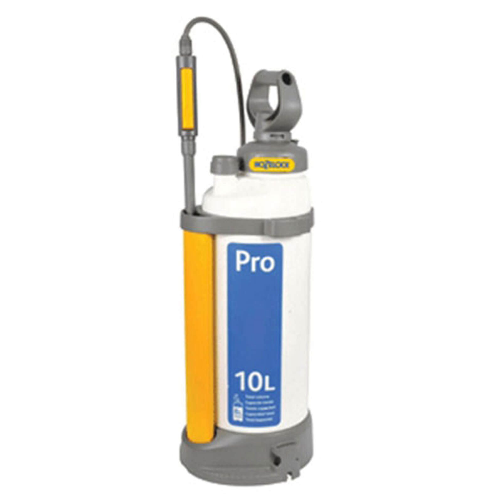 Hozelock Pro Pressure Water Sprayer 10 Litres Holds 8 Litres