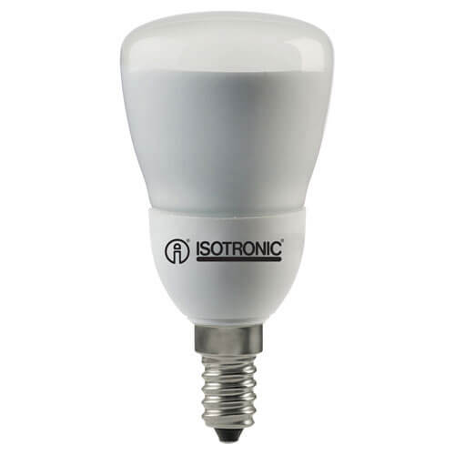 Image of Isotronic E14 Compact Warm Energy Saving Reflector Lamp R50 7w