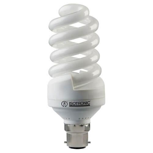 Image of Isotronic BC Vital Light Spiral Energy Saving Lamp 20w