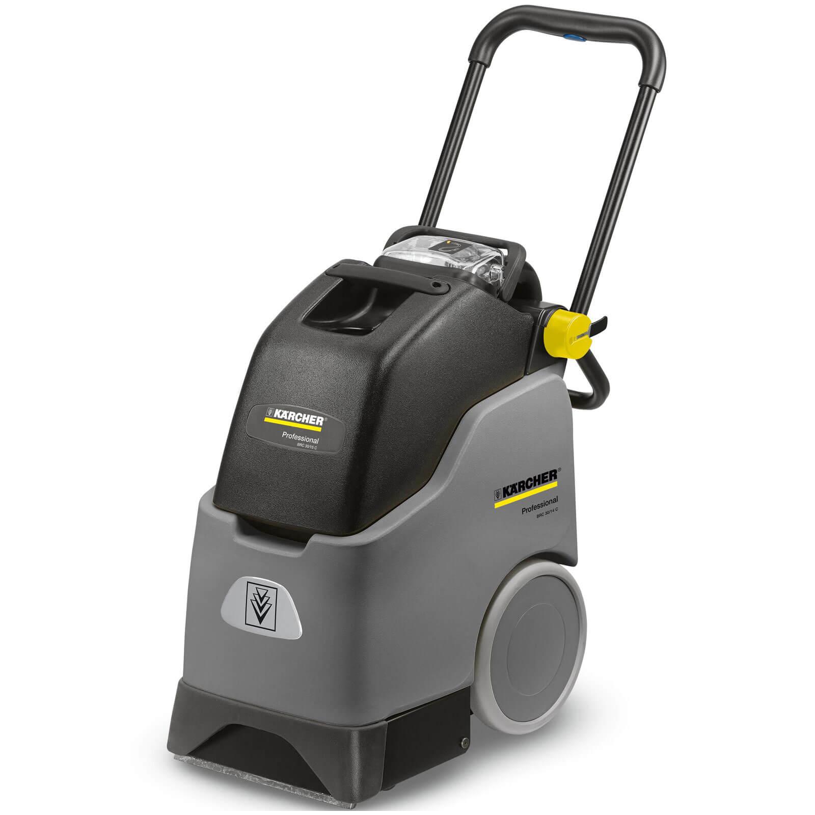 Karcher BRC 30/15 C Professional Upright Carpet Cleaner 15L Tank 240v