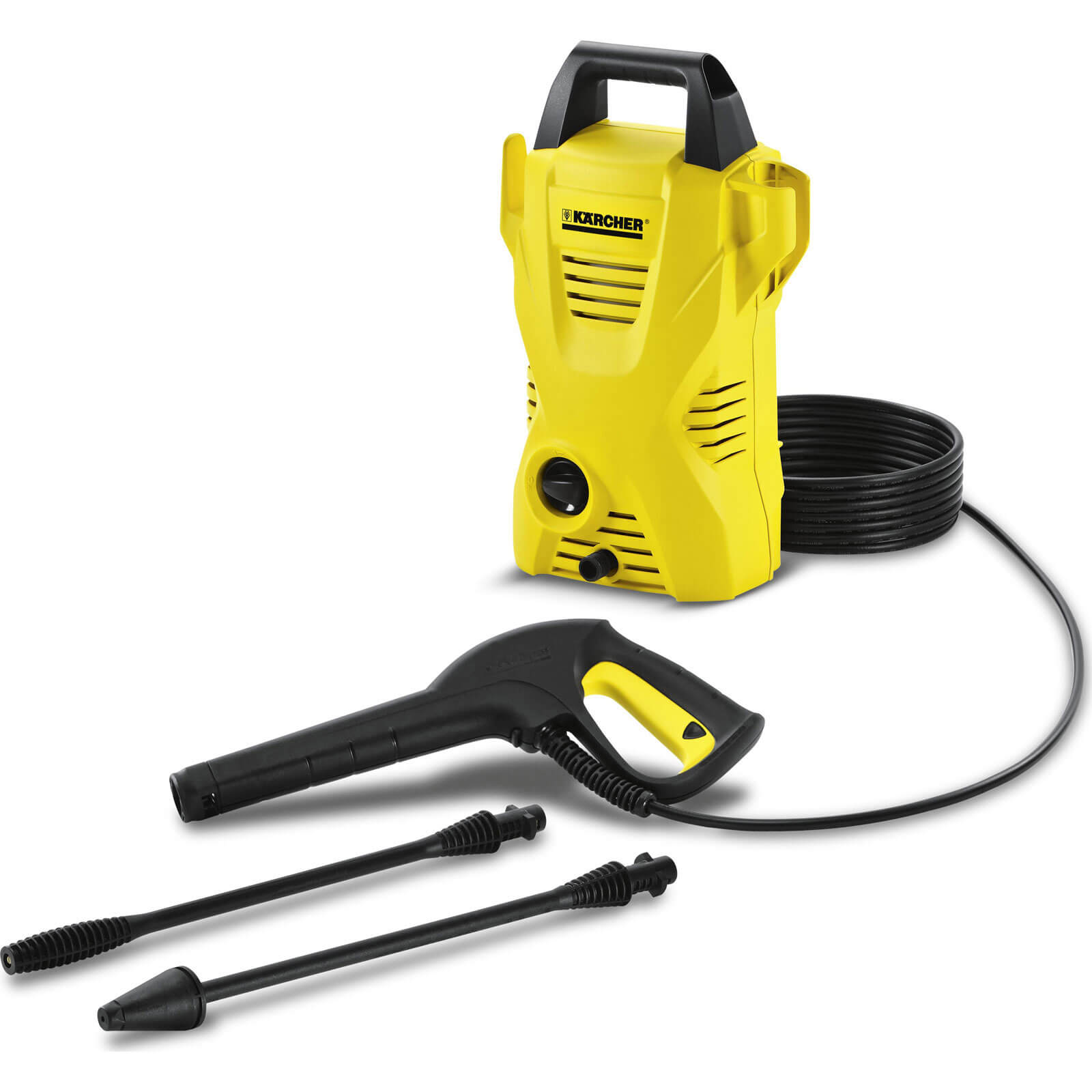 Karcher K2 Compact Pressure Washer 110 Bar 1400w 240v