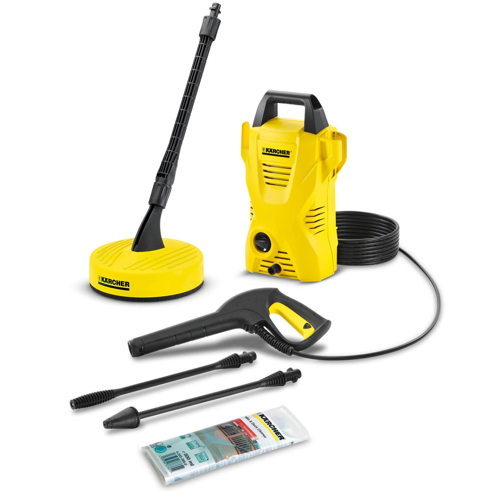 Karcher K2 Compact Home Pressure Washer 110 Bar 1400w 240v