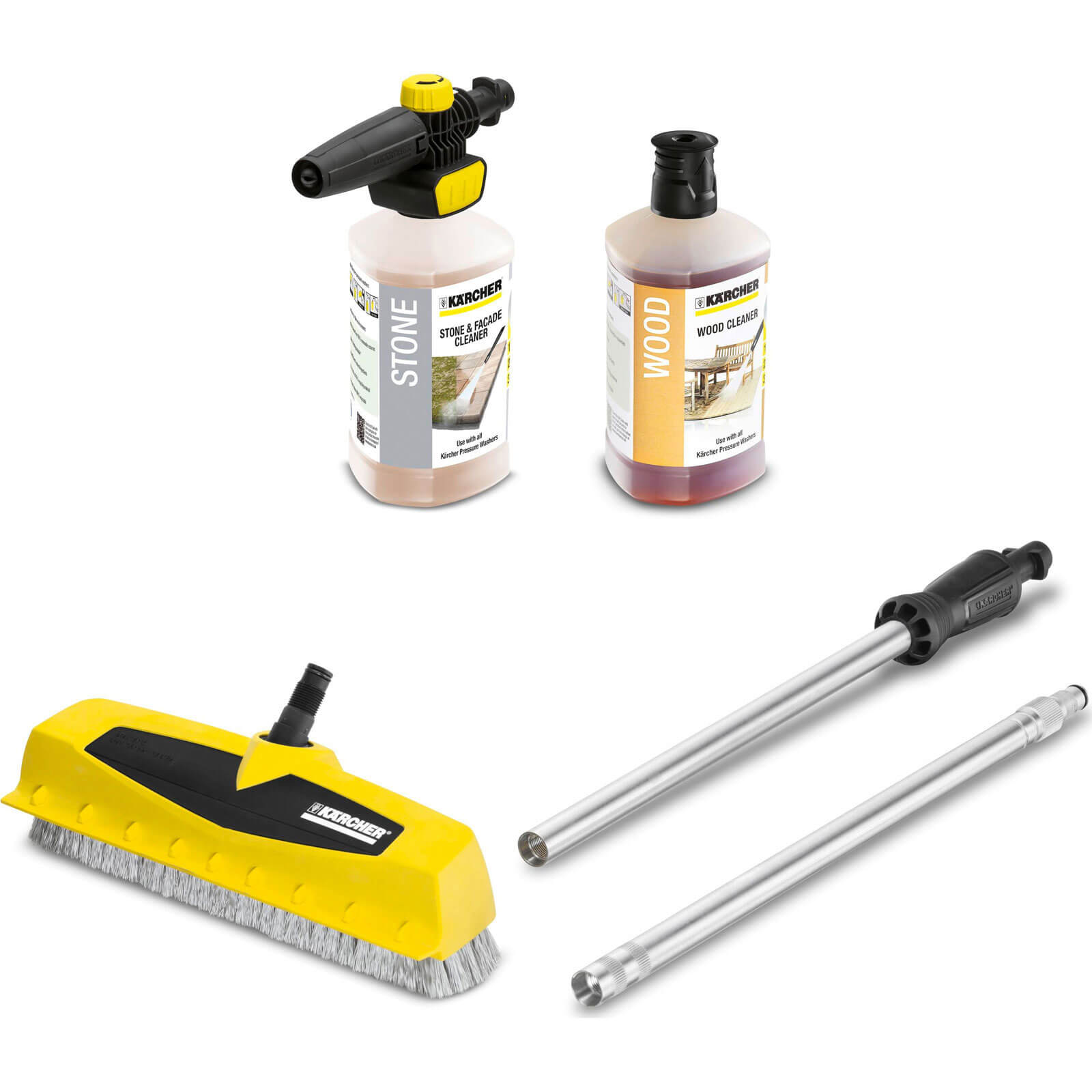 Karcher PS40 Patio, Deck & Driveway Scrubber Kit for K Series Pressure Washers