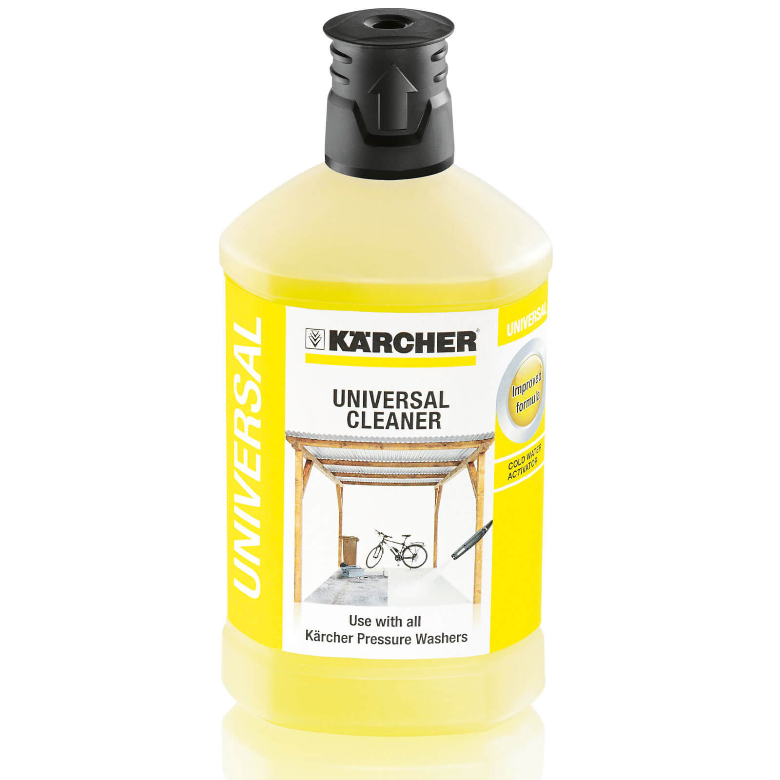Karcher RM 555 Universal All Purpose Plug n Clean Detergent 1 Litre for Pressure Washers