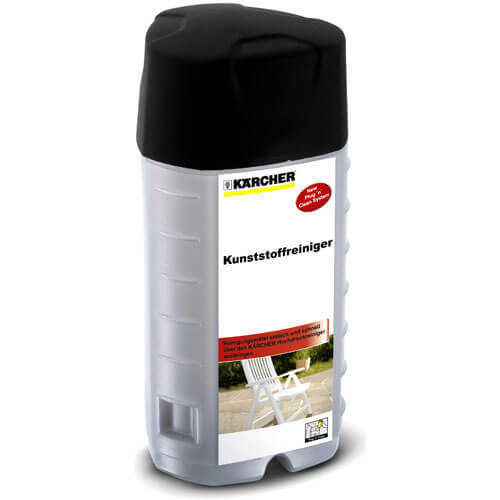 Karcher Multi Purpose Plastics Plug n Clean Detergent 1 Litre for Pressure Washers