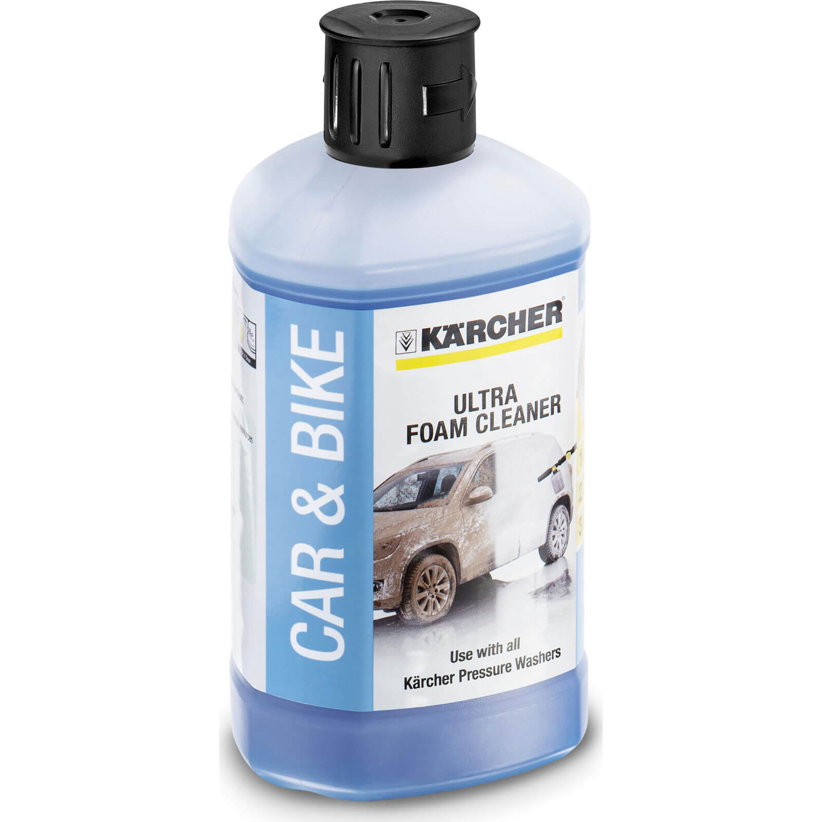Karcher Ultra Foam Cleaner Detergent 1 Litre for Pressure Washers with Foam Nozzle