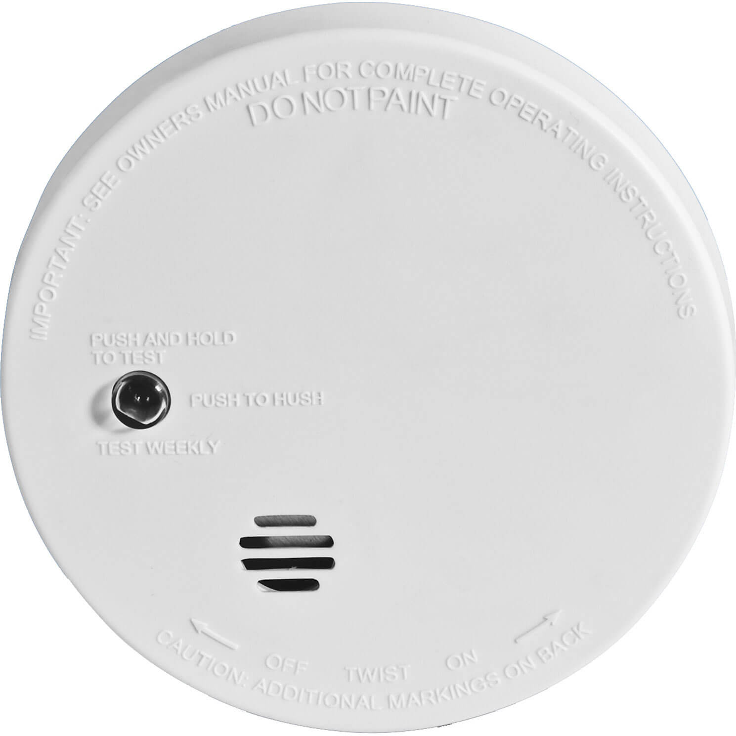 Kidde Smoke Alarm With Micro Test Hush Button